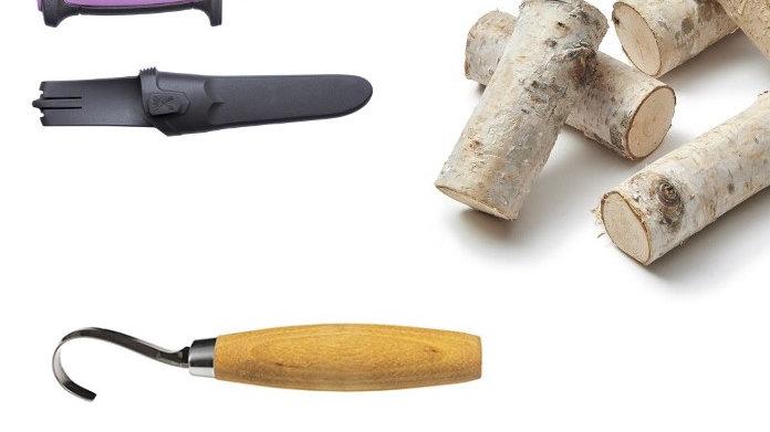 Lepelsnijset met hout
