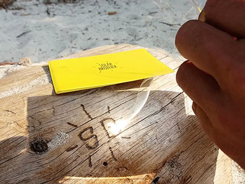 Solar Brother AdventureKit Onbreekbaar Vergrootglas/Spiegel