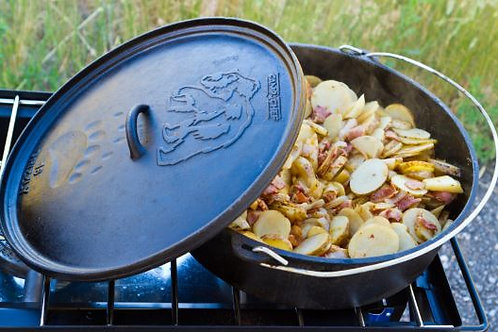 Campchef Classic Dutch oven 41CM GRIZZLY