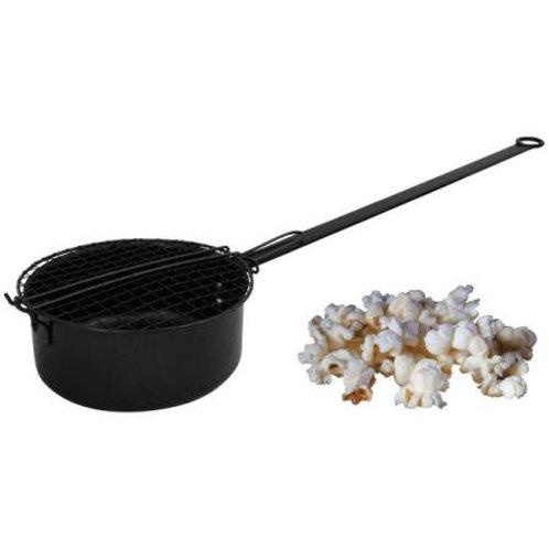 Popcornmaker voor op het kampvuur