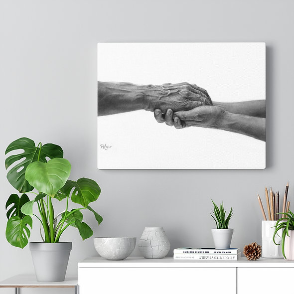 'Never Alone' Gallery Wrap Canvas
