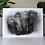 Thumbnail: African Elephants Art Print