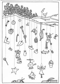 Hanging gifts