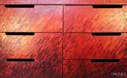 Orange sunstorm drawer