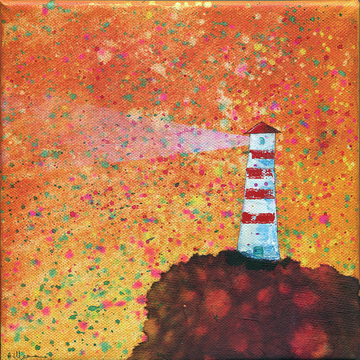 Light-house orange