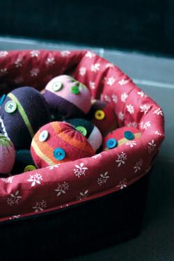 Recycled sock-balls