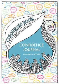 Confidence journal Colouring book