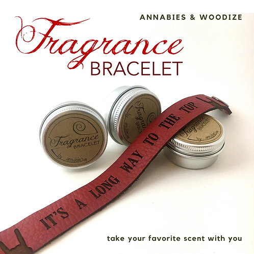 Fragrance bracelet - It's a long way to the top