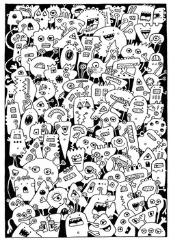 Monster crowd