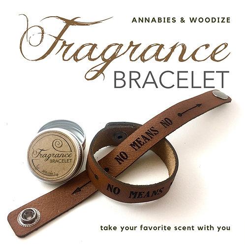 Fragrance bracelet - No means no
