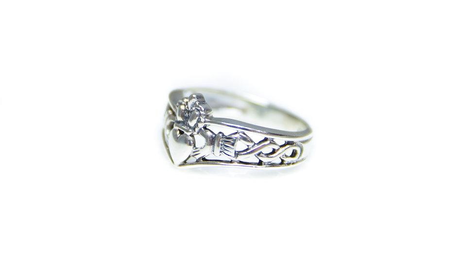 Ornate Claddagh Ring