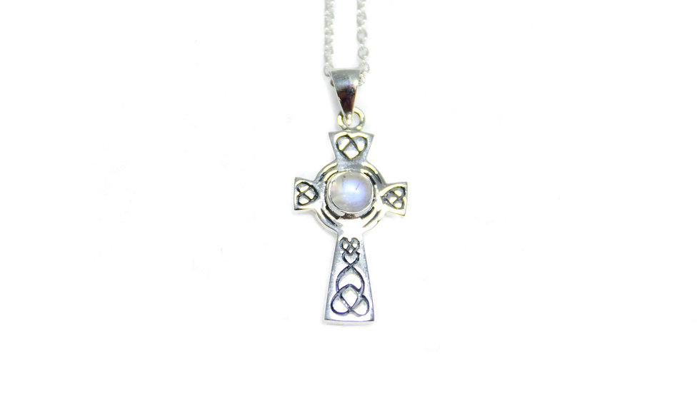 Moonstone Celtic Cross