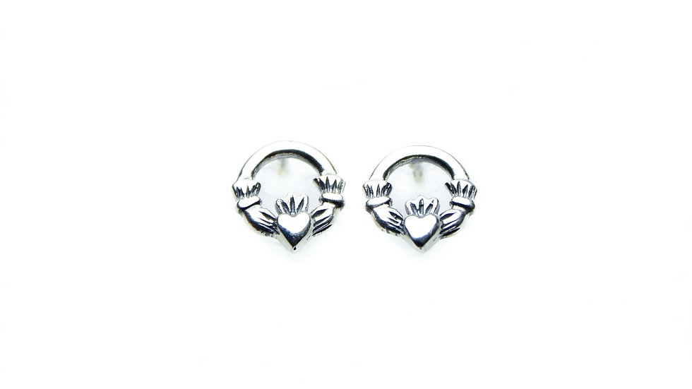 Little Claddagh Earrings