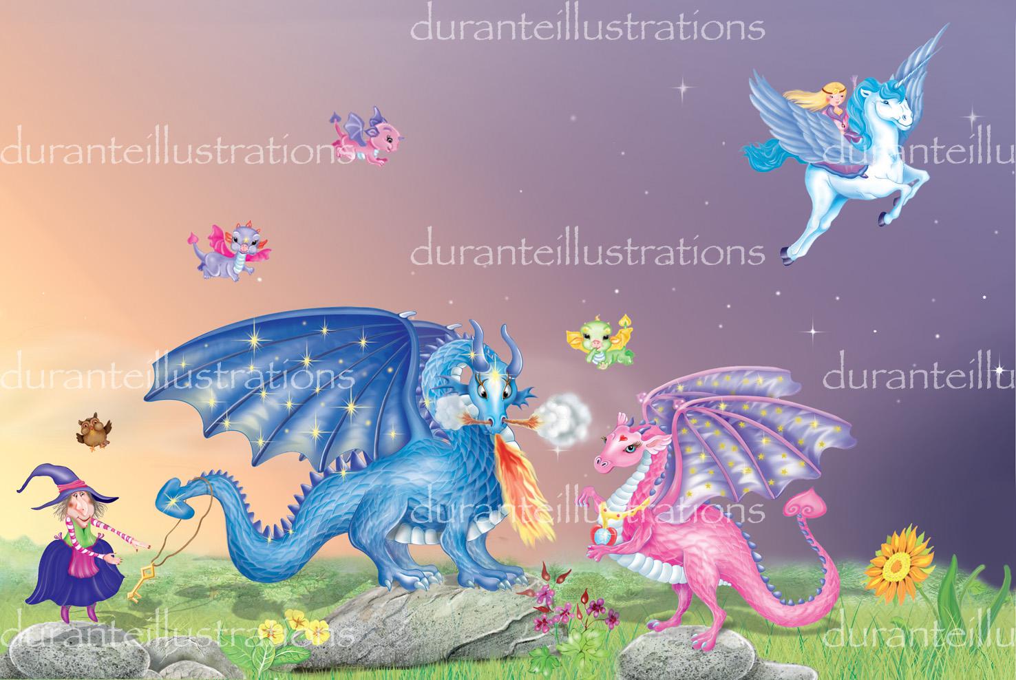 la famiglia dei draghi