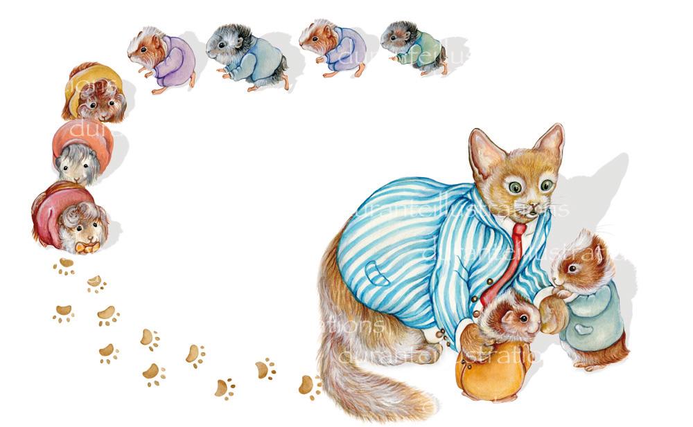 gatti e cavie