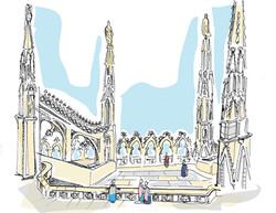 terrazze del Duomo, Milano