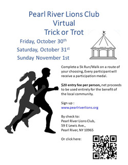 Trick or Trot Poster 2020