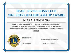 Nora Longing Award