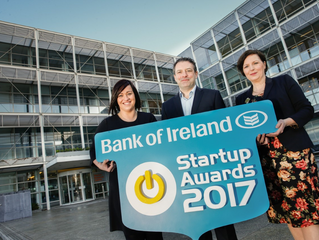 Entrepreneurs invited to showcase their success at Bank of Ireland Startup Awards 2017