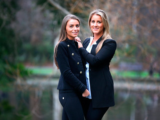 Italian body-shaping jeans brand an uplifting experience for style-savvy Dublin sisters