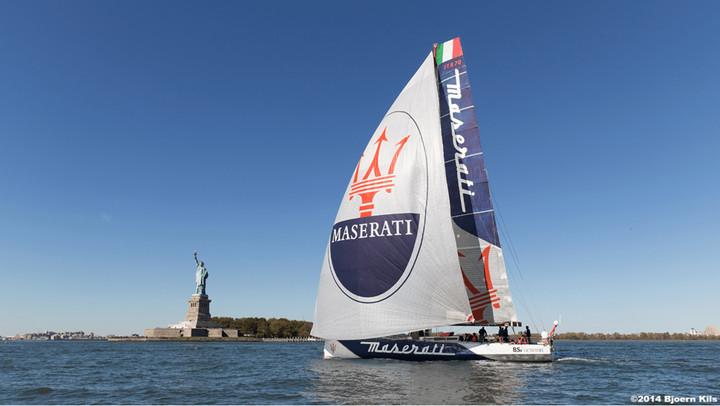 VOR70 Maserati - New York Lizard Point -