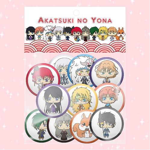 Akatsuki no Yona Pack de chapas