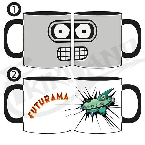 Futurama Bender mug