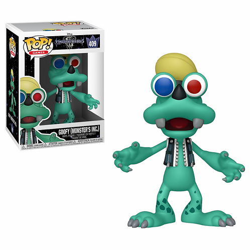Kingdom Hearts III POP! GOOFY (MONSTER'S INC.)