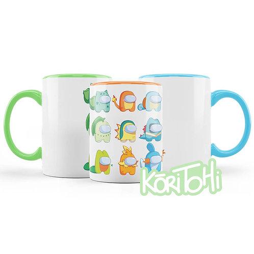 Among Us Pokemon Taza Mug