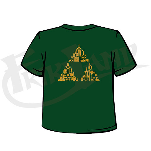 Ocarina's items triforce