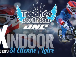 Présence au sein du Trophée des Nations de BMX à Saint-Etienne