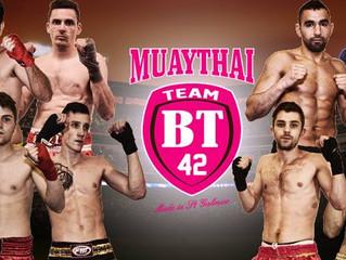 Partenariat Ostéo/Sport avec le Team BT42 de Boxe Thaïlandaise de St-Galmier