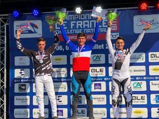 Tatyan LUI HIN TSAN champion de France BMX 2018
