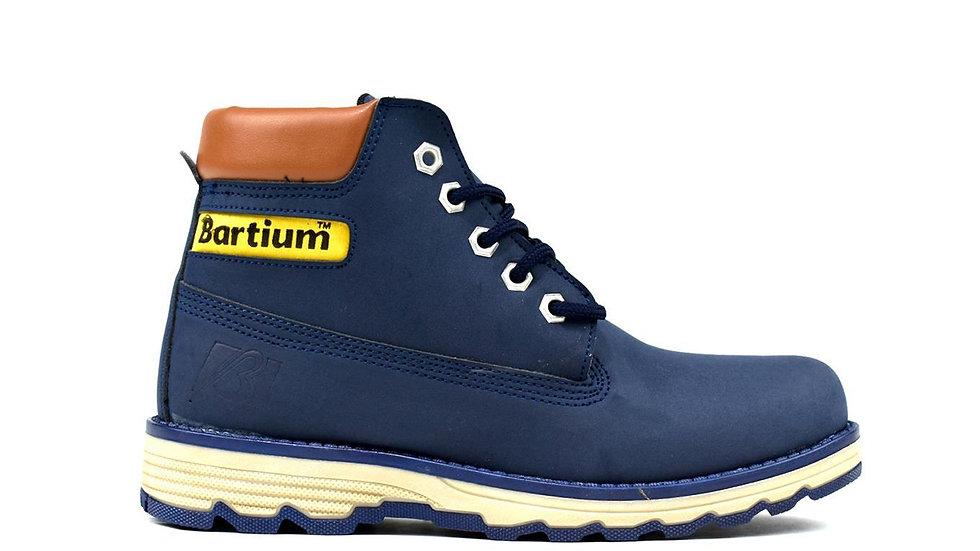 Bartium Low Top Boot Navy