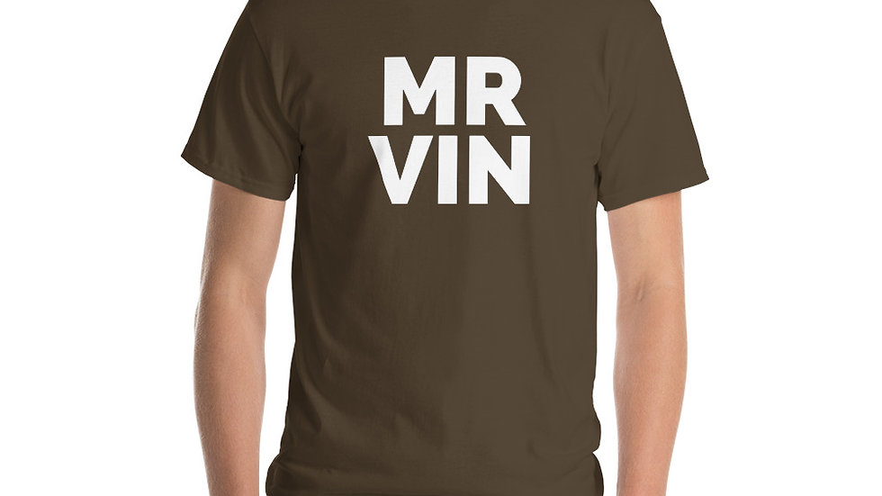 Short Sleeve T-Shirt Mr Vin Edition