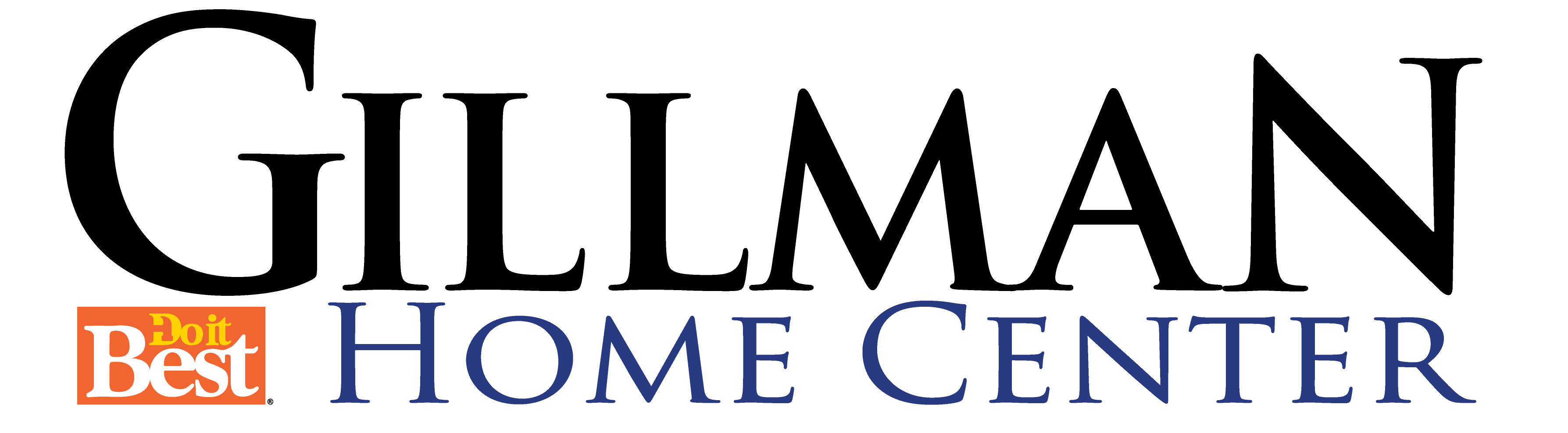 Gillman Home Center logo - 300dpi - tran