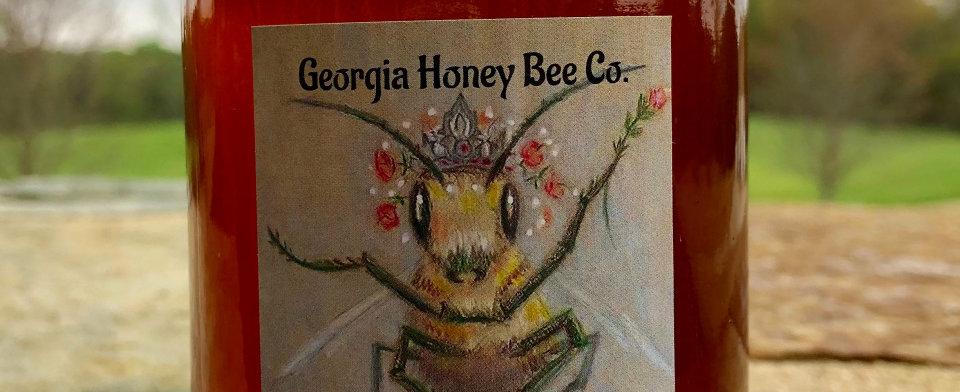 16oz raw/unfiltered wildflower honey