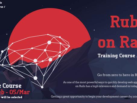 第二回「Ruby on Rails」トレーニングコース開催!