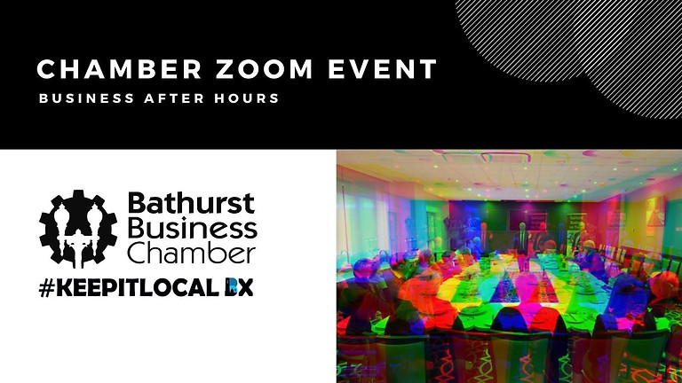 Business After Hours Zoom Event