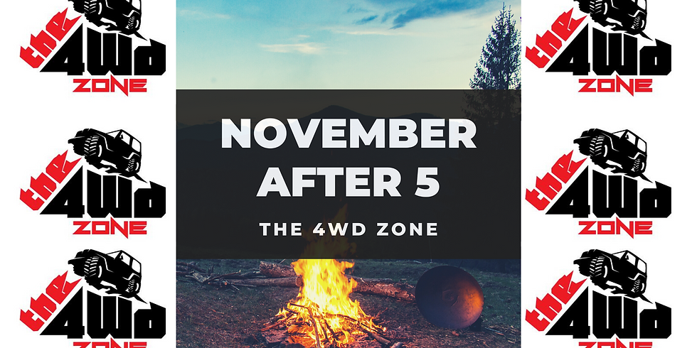 November After 5 hosted by The 4WD Zone