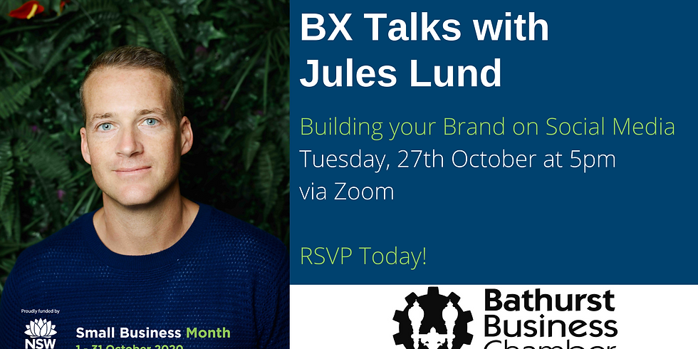 BX Talks with Jules Lund - Building your Brand on Social Media
