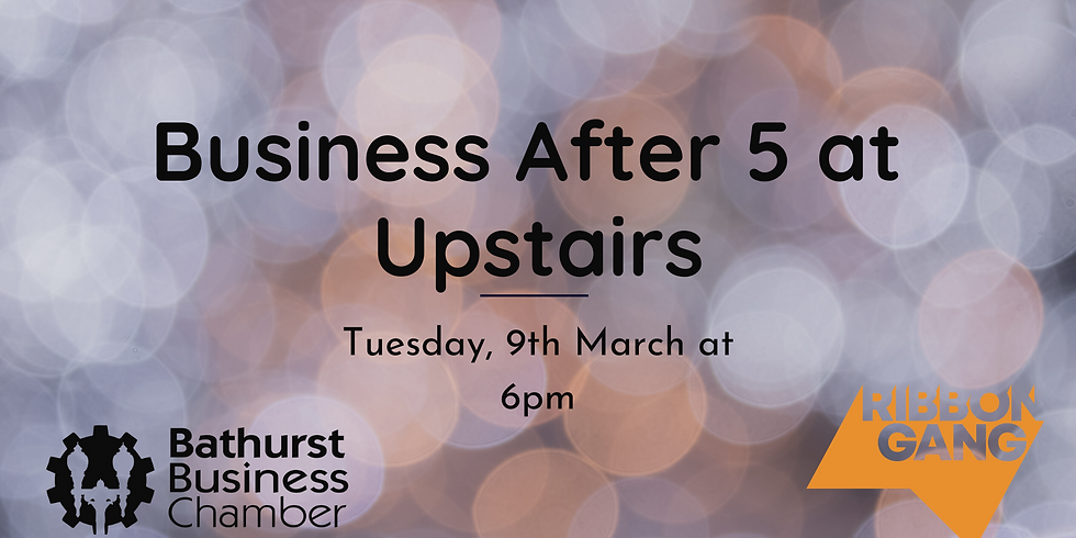 Business After 5 at Upstairs - Social Media Marketing for Small Business