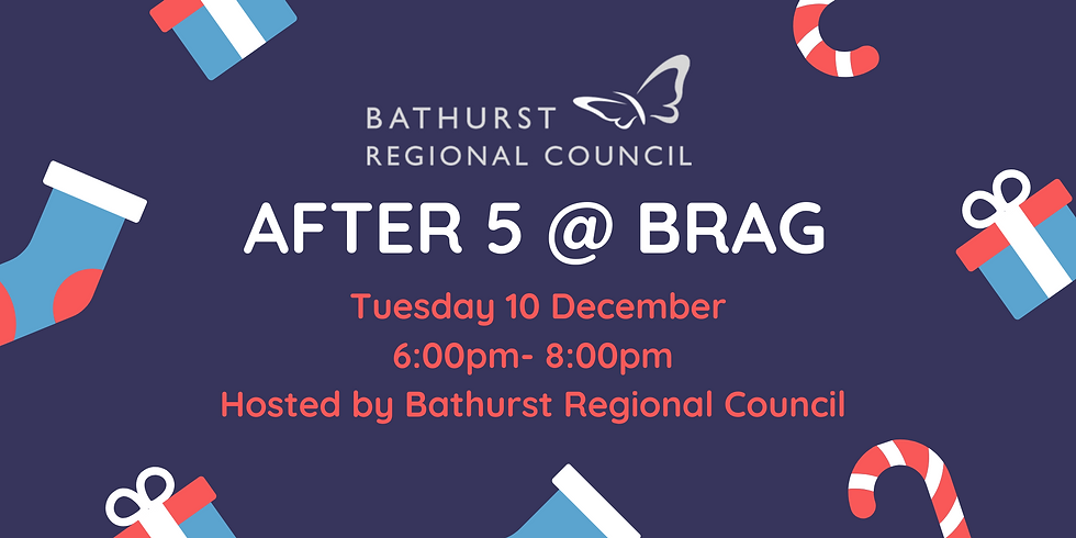 Christmas After 5 hosted by Bathurst Regional Council
