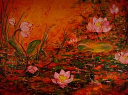 Lotus in Muddy Swamp