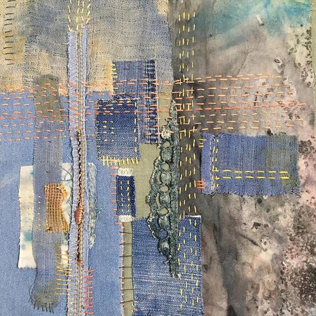 Mindful Stitching textiles