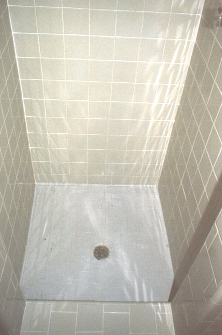 Shower after repair