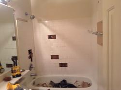 Tub and tile pre renovation