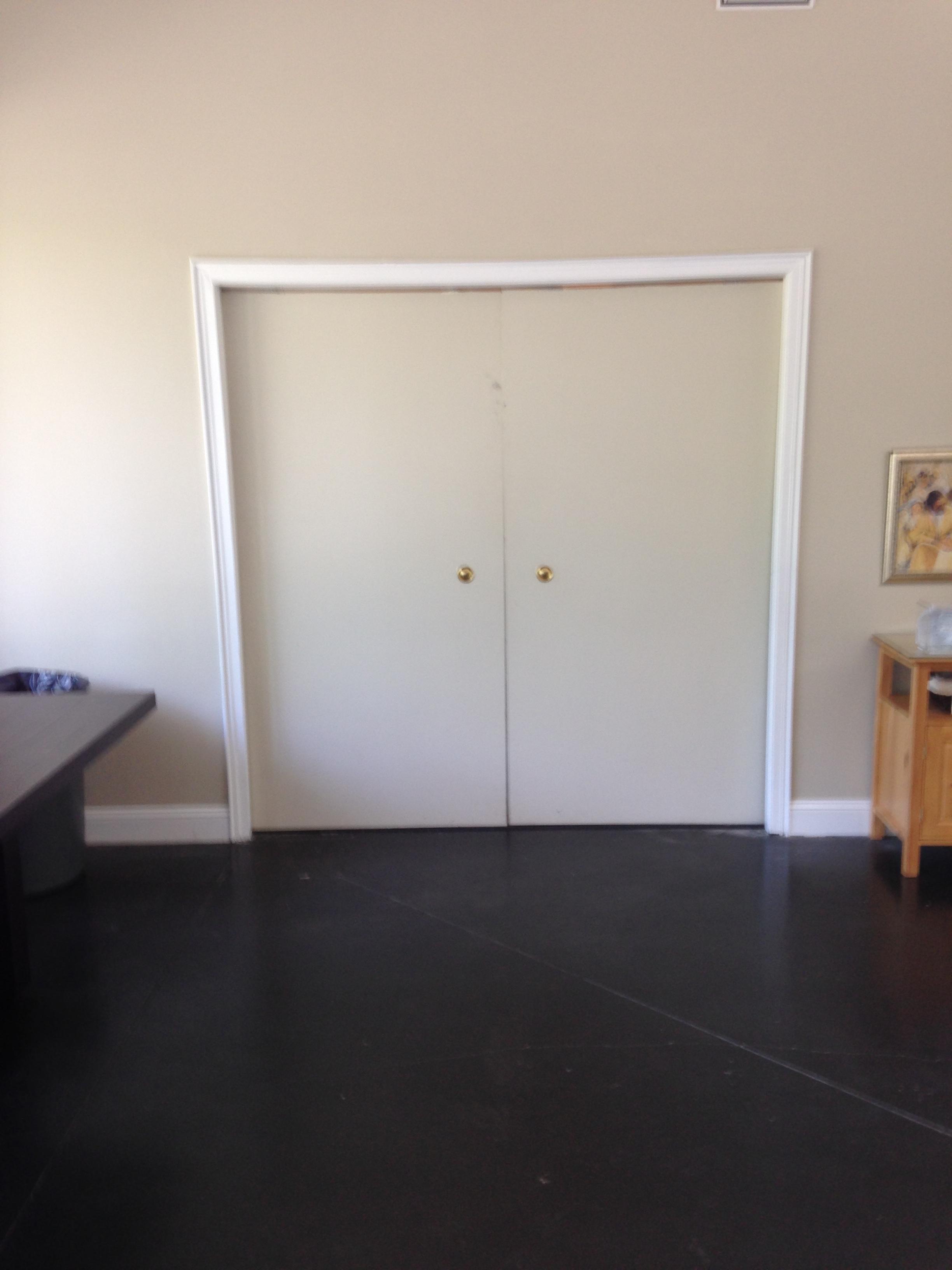 Closet doors pre renovation