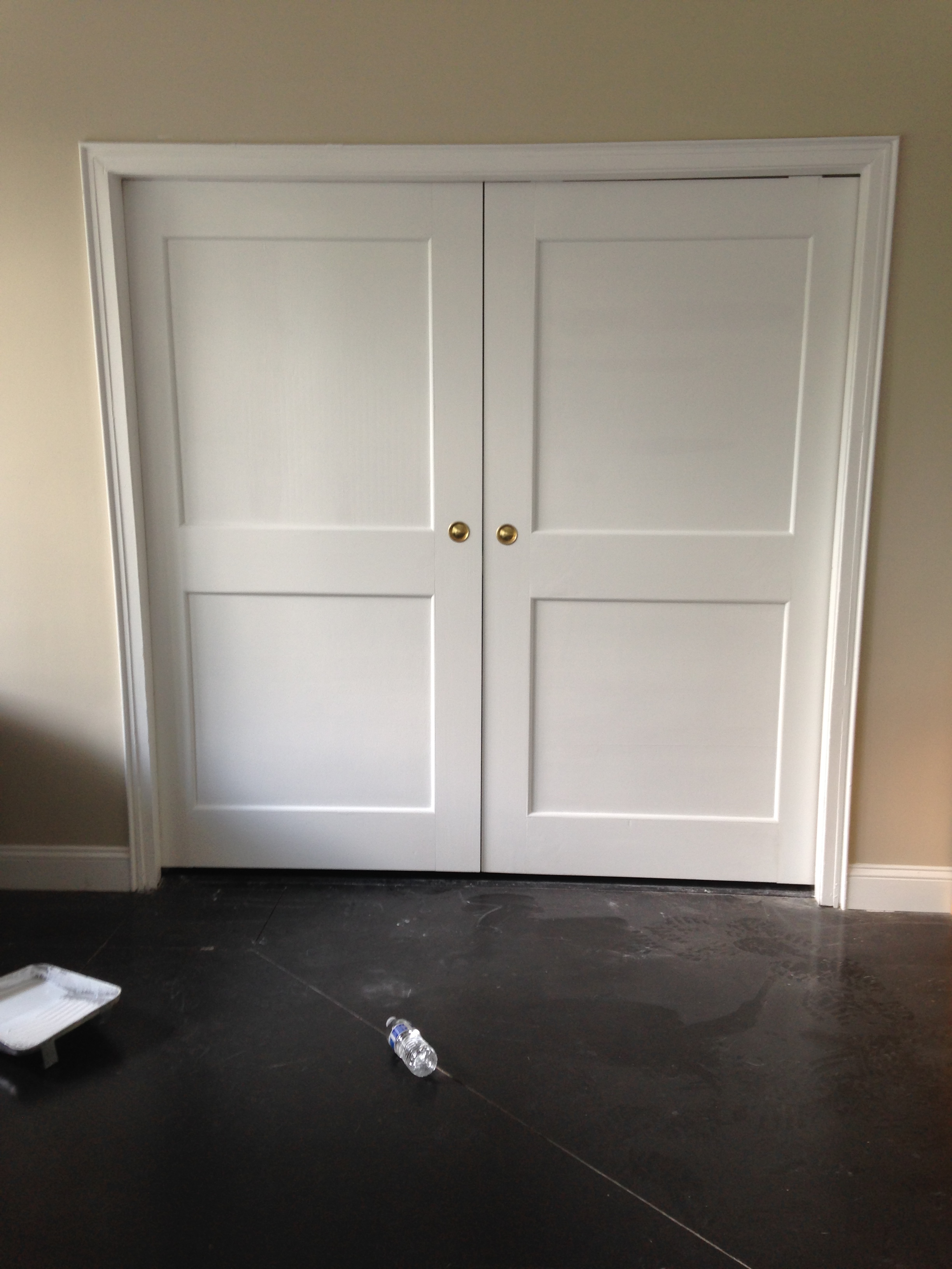 Closet doors post renovation
