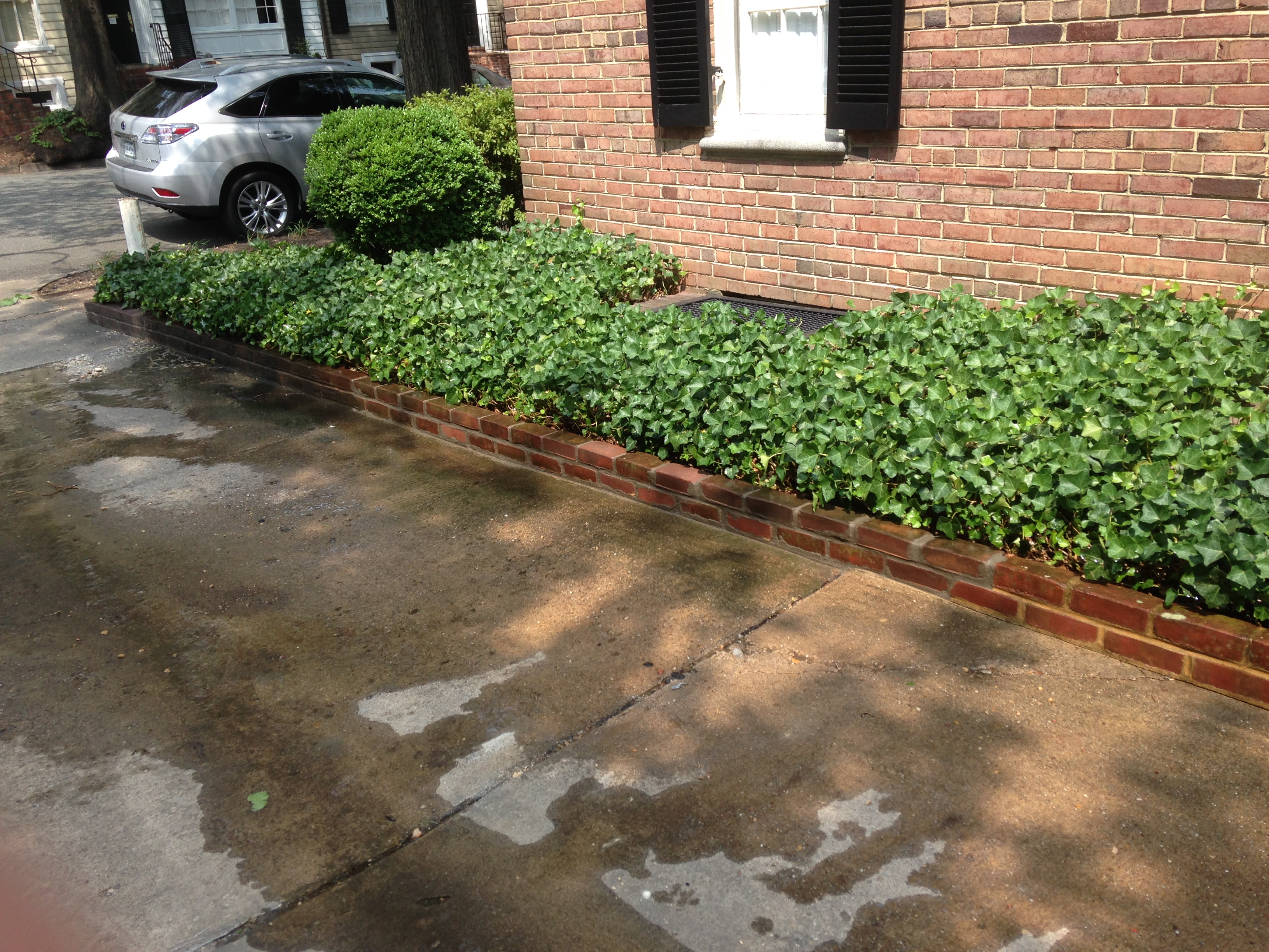 Exterior home beautification/after